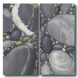 Kindred Spirits Diptych 48X48