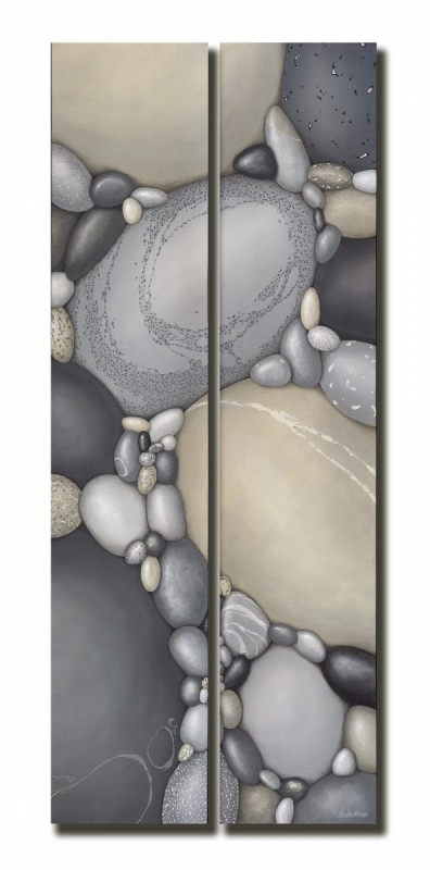 Clarity diptych (48x20)
